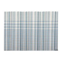Chilewich Grid Rectangle Placemat Blue