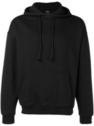 Les Artists Art Ists Don't Touch Drawstring Hoodie Black