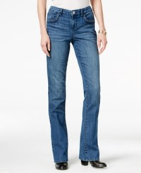 Styleandco. Style Co. Petite Braided Trim Myrtle Wash Bootcut Jeans Only At Macy's