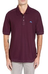 Tommy Bahama Men's 'The Emfielder' Original Fit Pique Polo Rumberry
