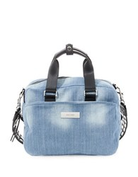 Steve Madden Embellished Strap Denim Bag