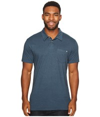 Billabong Standard Issue Polo Dark Slate Heather Men's Clothing Blue