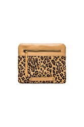 Twelfth St. By Cynthia Vincent Apple Clutch Brown