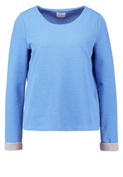 Vila Vimarthe Long Sleeved Top Silver Lake Blue Light Blue