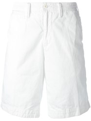 Polo Ralph Lauren Embroidered Logo Chino Shorts White
