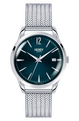 Henry London Knightsbridge Mesh Bracelet Watch 39Mm