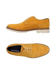 At.P. Co At.P.Co Lace Up Shoes Ocher