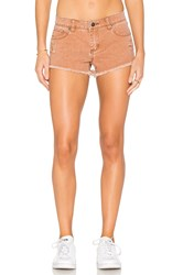 Rvca Hellow Mellow Short Ginger