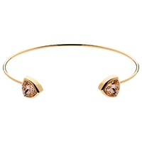 Cachet London Trilliant Spring Cuff Rose Gold