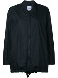 Aspesi Oversized Bomber Jacket Women Nylon Xs Black