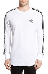 Adidas Men's Originals Waffle Knit Thermal T Shirt