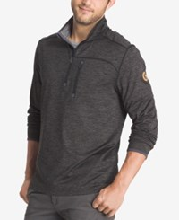 G.H. Bass And Co. Men's Big And Tall Performance Pullover Black Heather