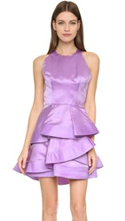 Alex Perry Caroline Dress Violet White Black