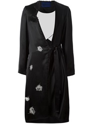 Sharon Wauchob Embroidered Orient Coat Black