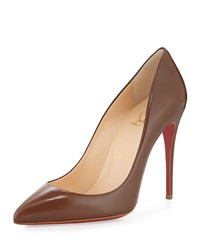 Christian Louboutin Pigalle Follies Low Cut Point Toe Red Sole Pump Blush 5