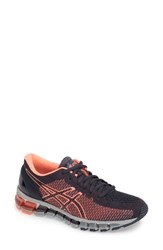 Asicsr Women's Asics 'Gel Quantum 360' Running Shoe Ink Flash Coral Grey