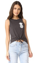 Chaser Pineapple Tank Very Black