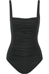Melissa Odabash Milano Ruched Swimsuit Black