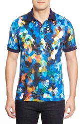 Men's Robert Graham 'Royal Charter' Digital Print Polo