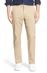 Men's Big And Tall Bonobos Slim Fit Washed Cotton Chinos True Khaki