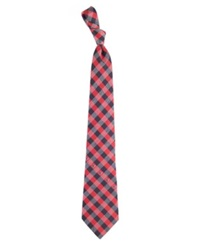 Eagles Wings Houston Texans Checked Tie Team Color