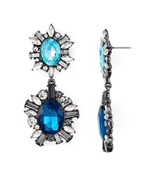 Aqua Hermione Drop Earrings Blue Teal