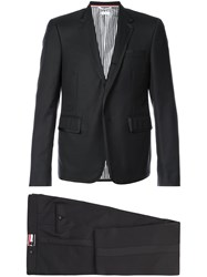 Thom Browne High Armhole Tuxedo And Low Rise Skinny Trouser With Black