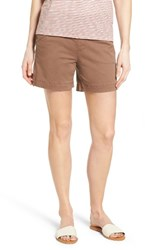 Jag Jeans Women's Ainsley Pull On Stretch Twill Shorts Birds Nest