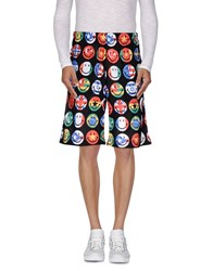 Moschino Couture Trousers Bermuda Shorts Men Black