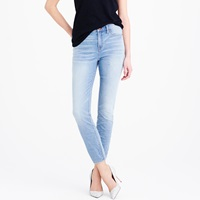 J.Crew Lookout High Rise Crop Jean In Sharky Wash