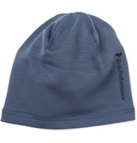 Peak Performance Heli Fleece Back Jersey Ski Beanie Blue
