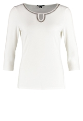 Comma Long Sleeved Top White