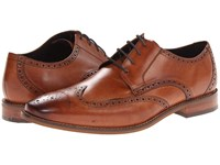 Florsheim Castellano Wingtip Oxford Saddle Tan Men's Lace Up Wing Tip Shoes Brown