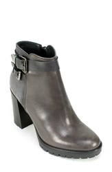 Women's Summit By White Mountain 'Leanne' Moto Boot Grey Leather