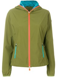 Save The Duck Light Zip Up Jacket Green