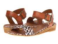 Eric Michael Amanda Leopard Women's Sandals Animal Print