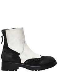Strategia 30Mm Brogue Leather Ankle Boots