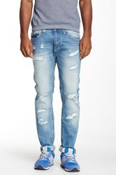 X Ray Distressed Skinny Jean Blue