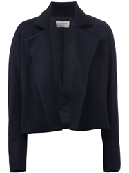 Maison Rabih Kayrouz Fitted Jacket Blue