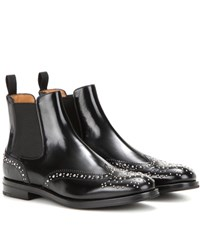 Church's Ketsby Embellished Leather Chelsea Boots Black