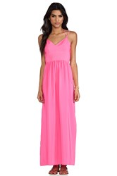 Amanda Uprichard Slit Gown Pink