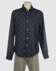 Riviera Club Long Sleeve Shirts Dark Blue