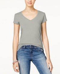 Energie Juniors' Mila V Neck Tee New Heather Grey