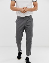 Only And Sons Cropped Chinos Grey