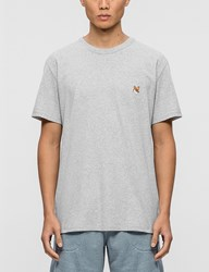 Maison Kitsune Fox Head Patch S S T Shirt