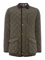 Howick Men's The Pembroke Quilted Jacket Evergreen