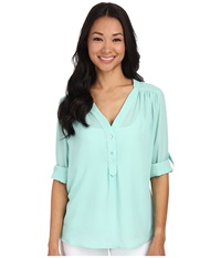 Brigitte Bailey Lotus Blouse Mint Women's Blouse Green