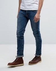 Nudie Jeans Co Grim Tim Jean Shaded Blue Wash Shaded Blue