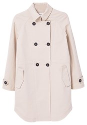 Mango Trenchcoat Light Pastel Grey Light Grey