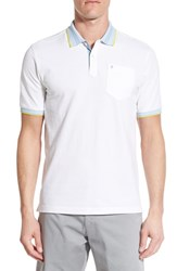 Men's Victorinox Swiss Army 'National' Slim Fit Tipped Polo